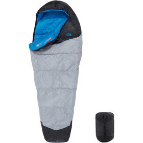 The North Face Blue Kazoo Slaapzak Regular, high rise grey/hyper blue